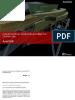 GUIA DE ESTUDIO DE CERTIFICACION AUTODESK V1.0  CERTIFIED USER AUTOCAD