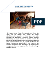 Hogar Santa Marta Resumen