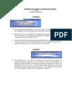 Secuencia de Problemas Para Resta y División. Posibles Resoluciones.