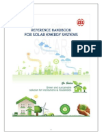 Reference Handbook on Solar Energy Systems