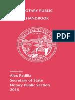 California Notary Handbook 2015
