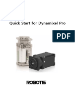 Dynamixel-Pro Quick Start