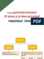 Ppt El Tema - Idea Principal