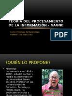 Procesamiento de La Informacion Gagne