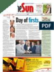 The Sun Malaysia Cover (21 April 2008)