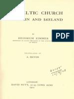Zimmer Heinrich - The Celtic Church