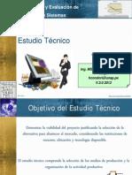 Class 04 Estudio Tecnico 2013