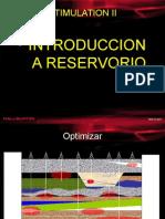 Estimulacion II Introduccion Al Reservorio