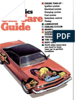 Car Care Guide - Popular Mechanics - May 1973