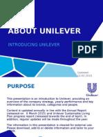 About Unilever Presentation