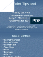 Tips Powerpoint