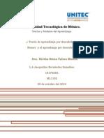 1. Entregable. Teorías y Modelos Del Aprendizaje. JHG