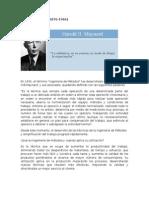 Harold Maynard y la Ing de Métodos