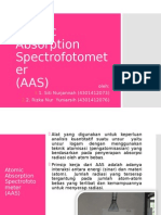 Atomic Absorption Spectrofotometer (AAS)