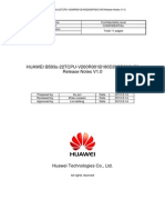 Huawei b593s-22-V200r001b180d20sp30c158 Release Notes v1.0