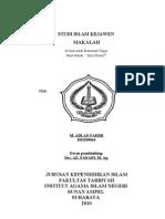 MAKALAH STUDI ISLAM KEJAWEN