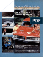 Car Care Guide - Popular Mechanics - May 1984