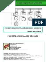 Ejemplo Proyecto DE UNA INSTALACIÓN DE SONIDO AMBIENTAL