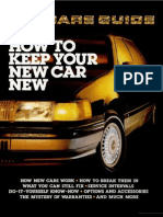 Car Care Guide - Popular Mechanics - May 1986