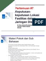 Keputusan Lokasi Fasilitas Dalam Jaringan Distribusi.ppt