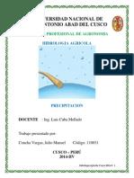 Precipitation Spanish