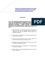 Cuestinario Plan de Concienciacion Ambiental Basado en La Practica Del Reciclaje