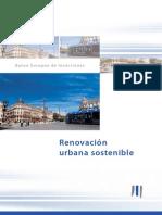 Renovación urbana sostenible