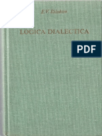 Lógica dialéctica, ensayos de historia y teoría - E. V. Iliénkov.pdf