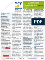 Pharmacy Daily for Mon 16 Mar 2015 - Pharmacy fear limiting, New name for dispensing fee?, NAPSA