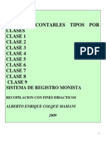 Asientos Contables Tipos Por Clases- Pcgr