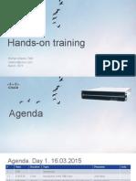 Cisco SPVSS Encoding & Streaming Engineering Training for Partners