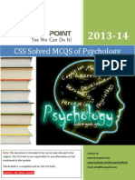 Solved MCQS of Psychology
