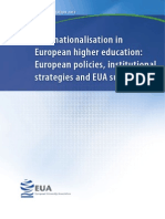 EUA International Survey