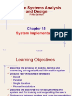 Chapter 15 - system implementation