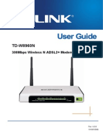 TD-W8960N V3 User Guide