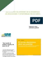 Marcelo Diaz y Veronica Jardim - Diapositivas Segundo Corte - Une