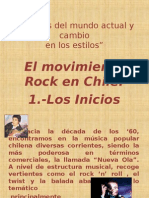 El Movimiento Rock en Chile
