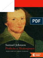 Prefacio a Shakespeare - Samuel Johnson