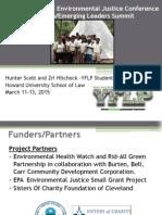 Hunter Scott and Zri Hitchock - YFLP Student Leaders