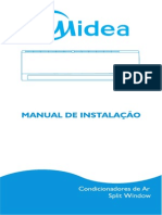 Installation Manual Split Window