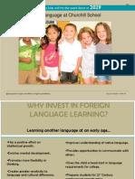 dual language presentation for parents