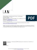 Michel Peletz - Kinship Studies in Late Twentieth-Century Anthropology