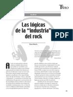 Las Lógicas de La Industria Del Rock