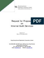 RFP on Internal Audit