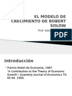 El Modelo de Crecimiento de Robert Solow