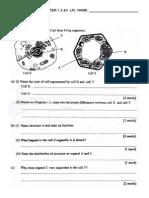 Test Biology Form 4 Chapter 123