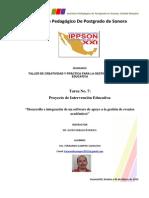 Ejemplo de un Proyecto de Intervención Educativa