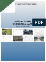 Manual Desain Perkerasan 2013