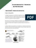Mecanismos de Desgaste y Tecnicas de Protección