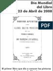 Libro de citas 2008